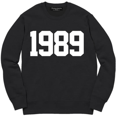 1989 Women's Signature Sweatshirt - September New York (visit septembernewyork.com)
