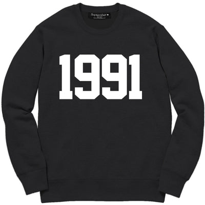 1991 Women's Signature Sweatshirt - September New York (visit septembernewyork.com)