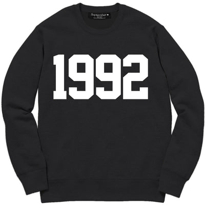 1992 Men's Signature Sweatshirt - September New York (visit septembernewyork.com)