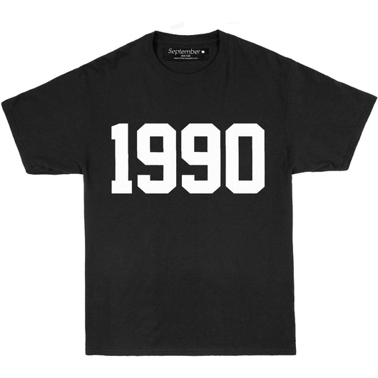 1990 Men's Signature T-Shirt - September New York (visit septembernewyork.com)