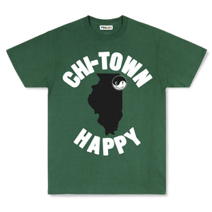 "Chicago ""Chi-Town"" Whole Happy T-Shirt"