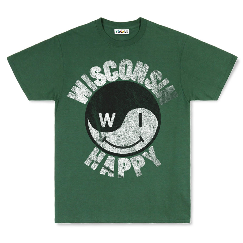 Wisconsin Happy Vintage T-Shirt