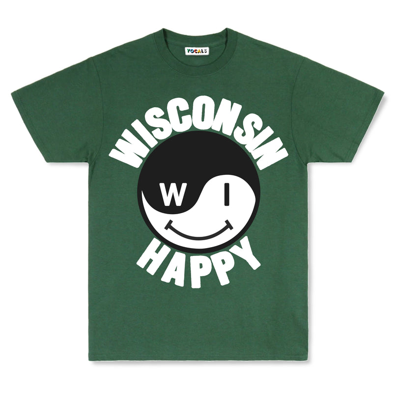 Wisconsin Happy T-Shirt