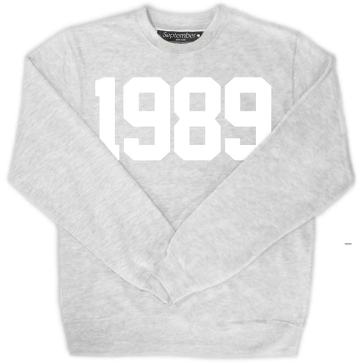 1989 Men's Signature Sweatshirt - September New York (visit septembernewyork.com)