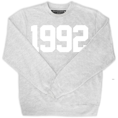 1992 Women's Signature Sweatshirt - September New York (visit septembernewyork.com)