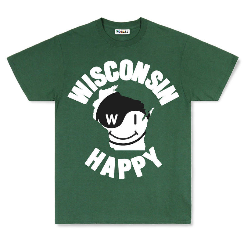 Wisconsin Whole Happy T-Shirt
