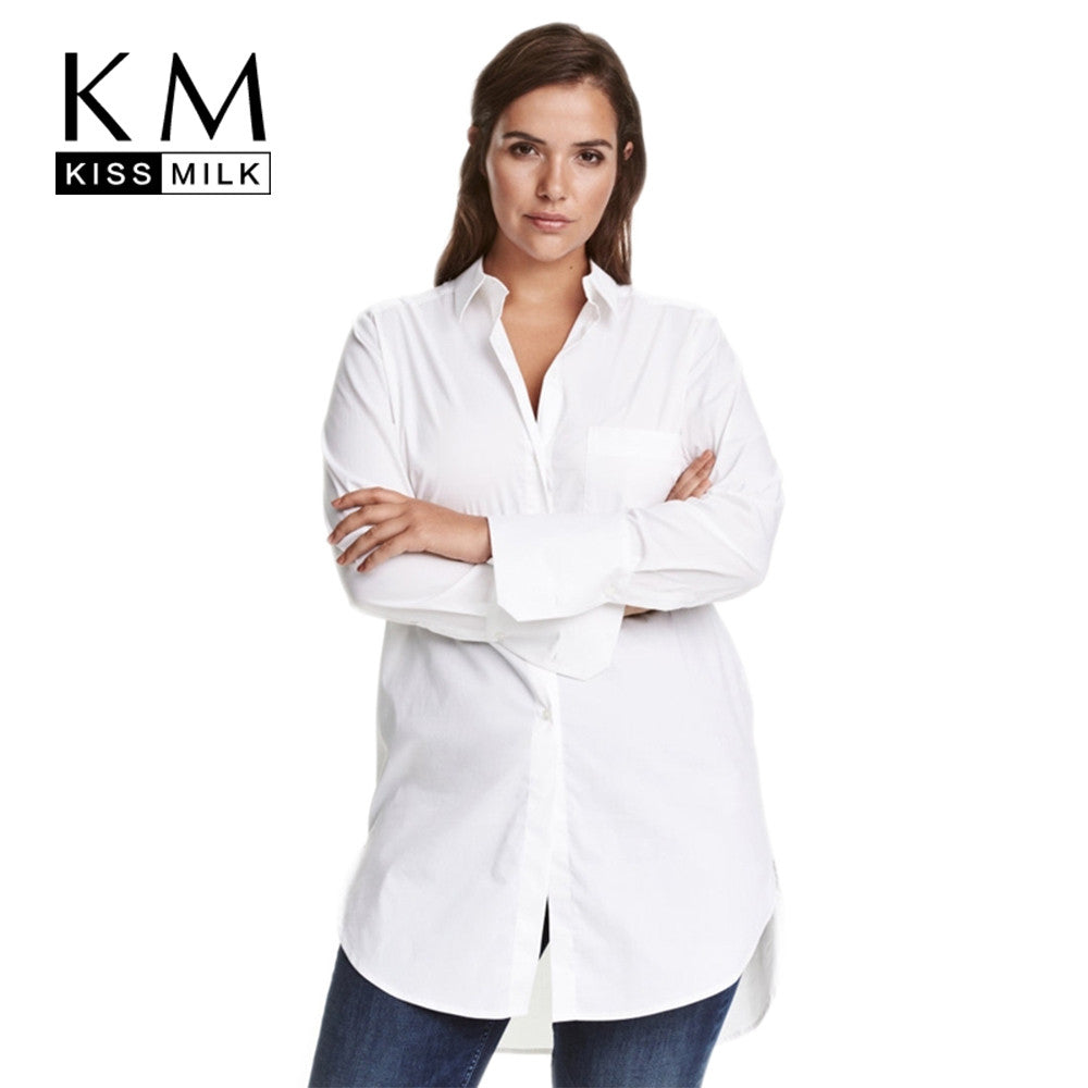 kissmilk-plus-size-white-blouse-buyabargain