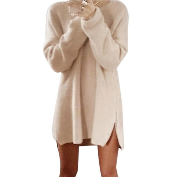 Women's Warm Knitted Cardigan Cover-Up