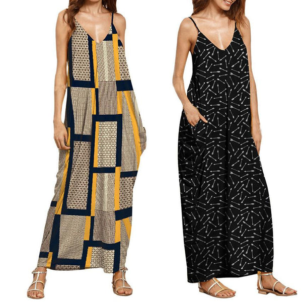 Long Summer Maternity Dresses