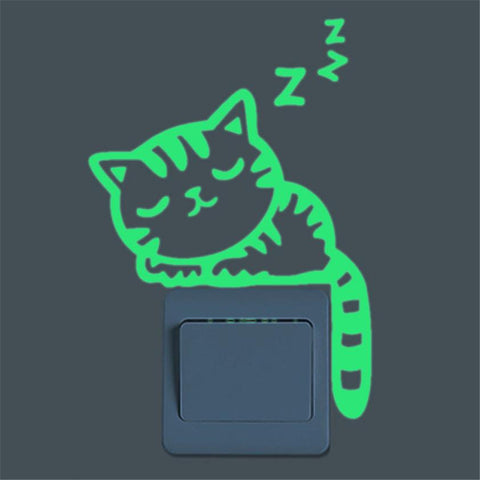 cat-glow-in-the-dark-wall-sticker-buyabargain