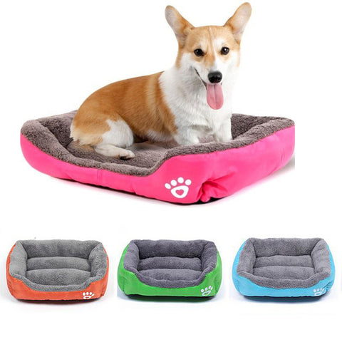 Plush Pet Padded Bed