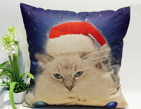 Christmas-cat-throw-pillow-cover-buyabargain