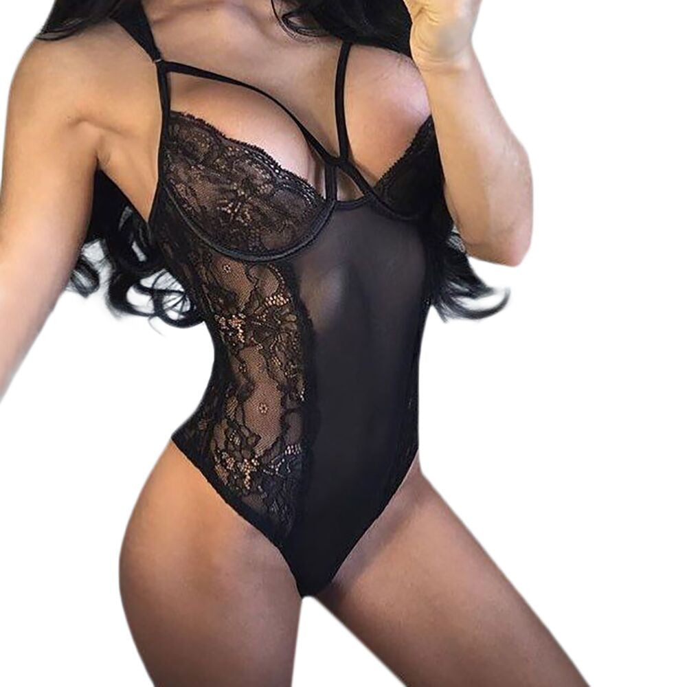Women's Sexy Lace One-Piece Lingerie