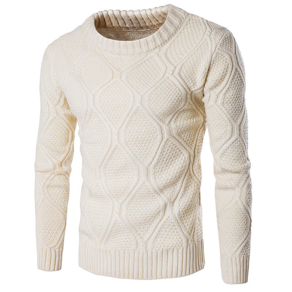 mens-knitted-slim-fit-sweater-buyabargain