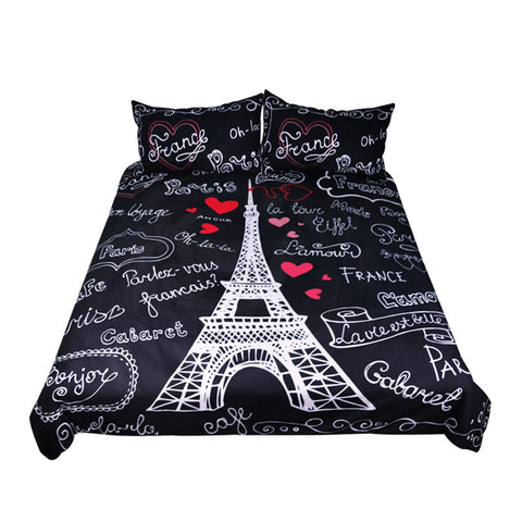 Paris Eiffel Tower Bedding Set
