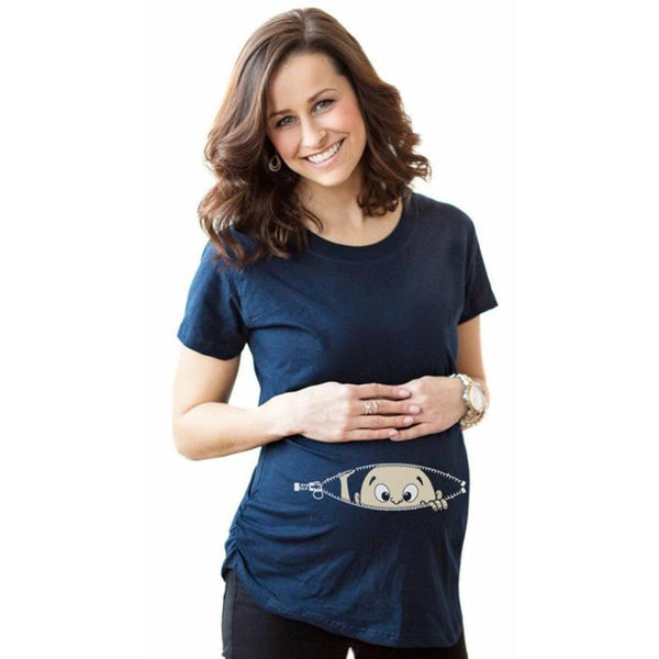 Maternity T-Shirt with Graphic