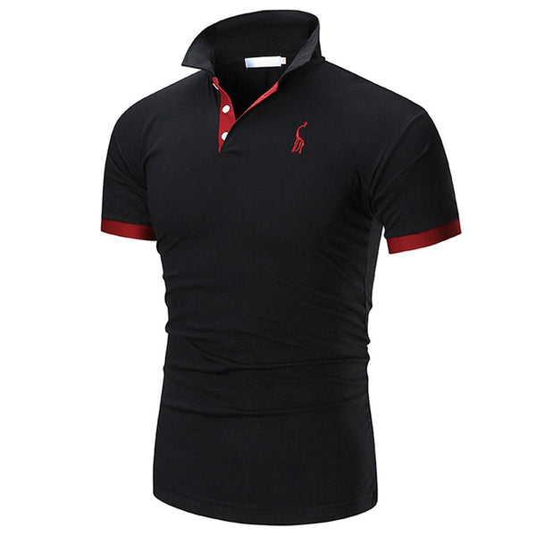 Men's Casual Slim Short Sleeve Shirt