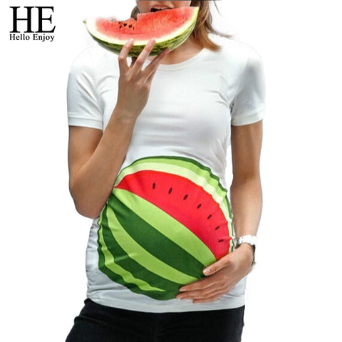 Watermelon Maternity Women's T-Shirt
