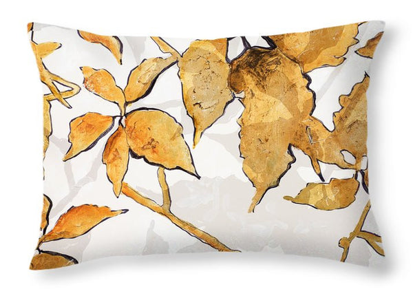 Leaves Pattern Decorative Throw Pillow