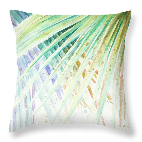 Palm Leaves Decorative Throw Pillow