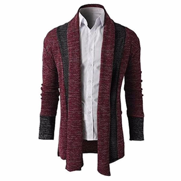 Knitted Cardigan Men's Stylish Sweater