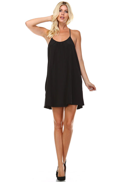 Women's Spaghetti-Strap Flowing Sundress