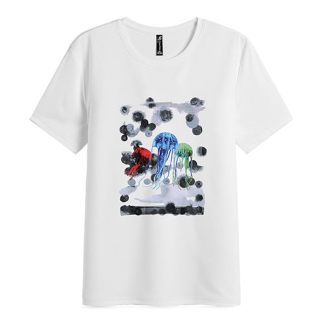 Men's T-Shirt Jelly Fish Design