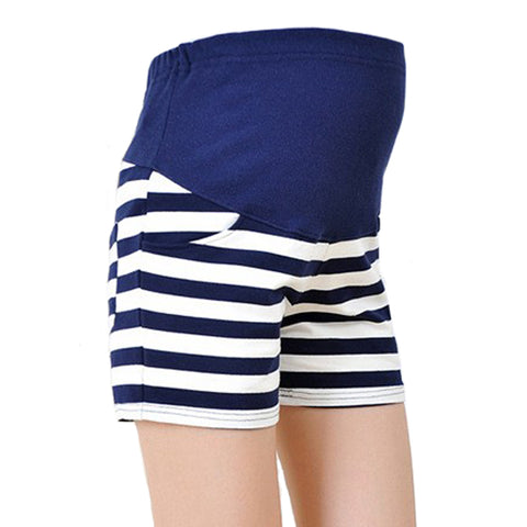 maternity-shorts-striped-buyabargain