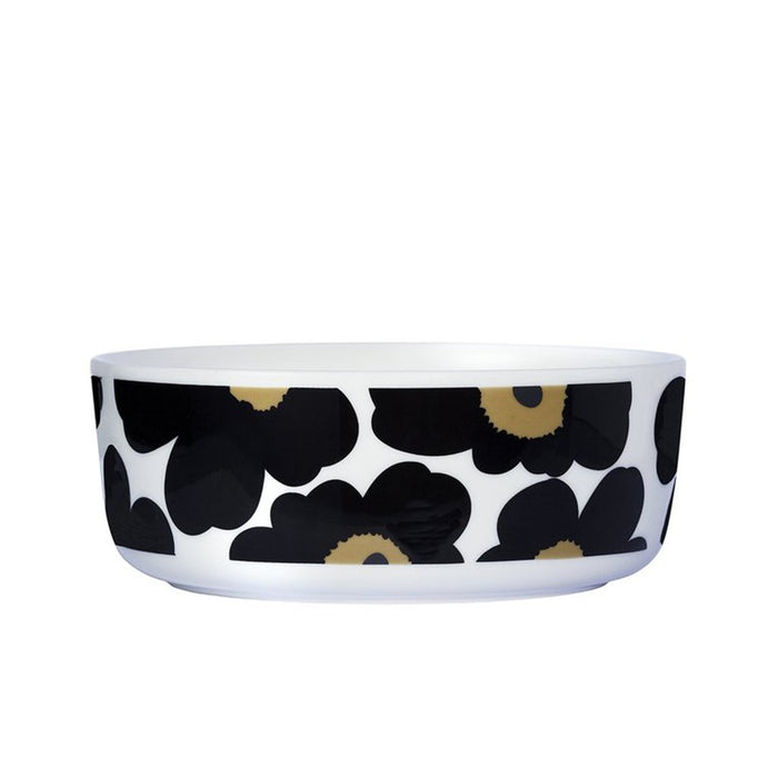Marimekko - Oiva Unikko Bowl - 1.5L - White, Black & Green