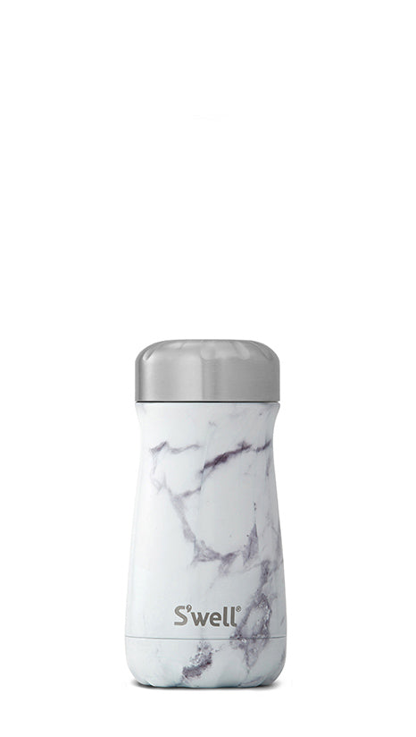 S'Well - Traveller - Elements Collection - White Marble - 350ml