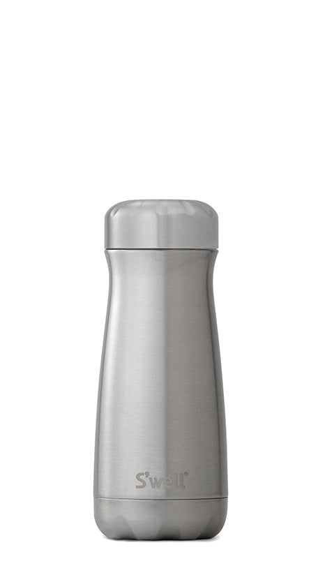 S'Well - Traveller - Shimmer Collection - Silver Lining - 470ml