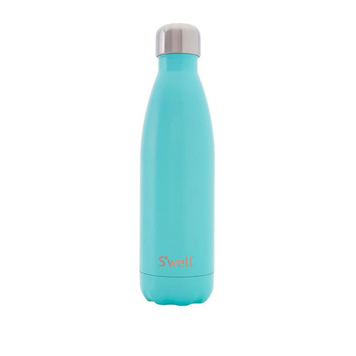 S'Well - Satin Collection -  Turquoise | Silver Cap - 500ml