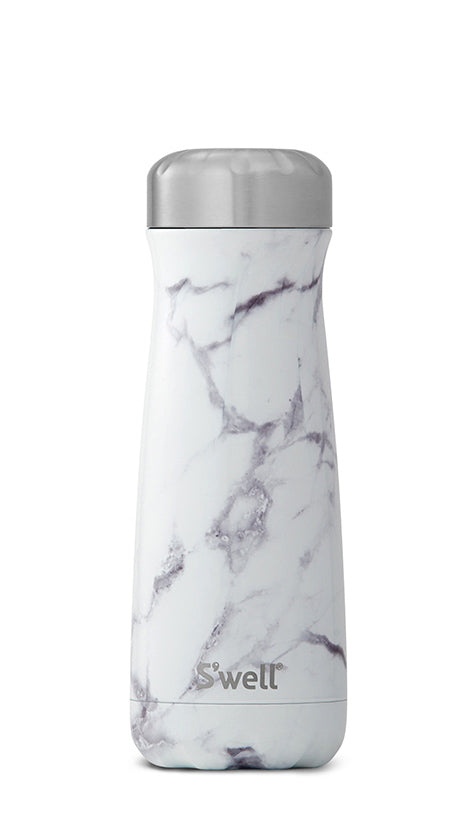 S'Well - Traveller - Elements Collection - White Marble -  590ml