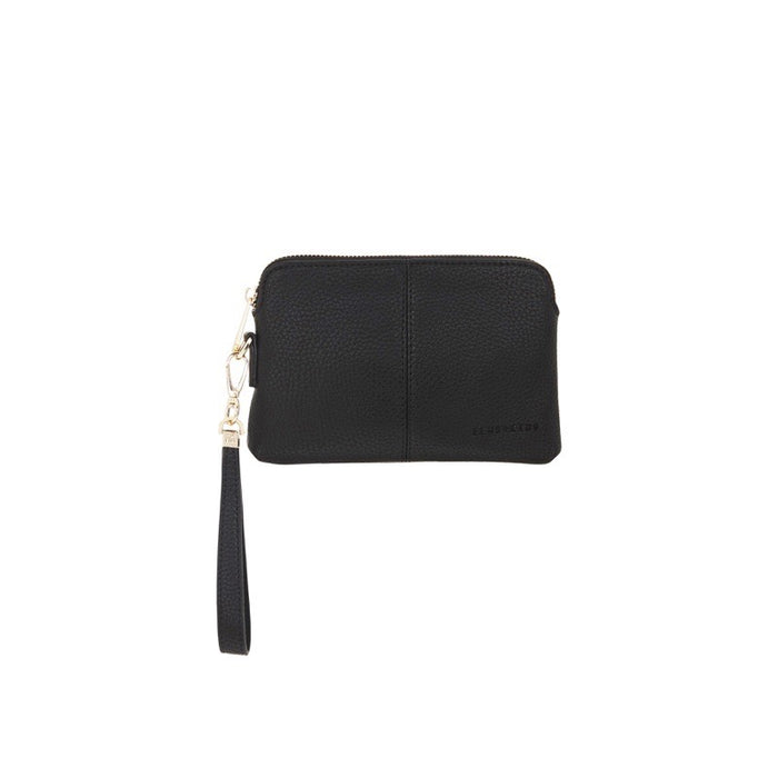 Elms & King Bowery Coin Purse Black Afterpay available