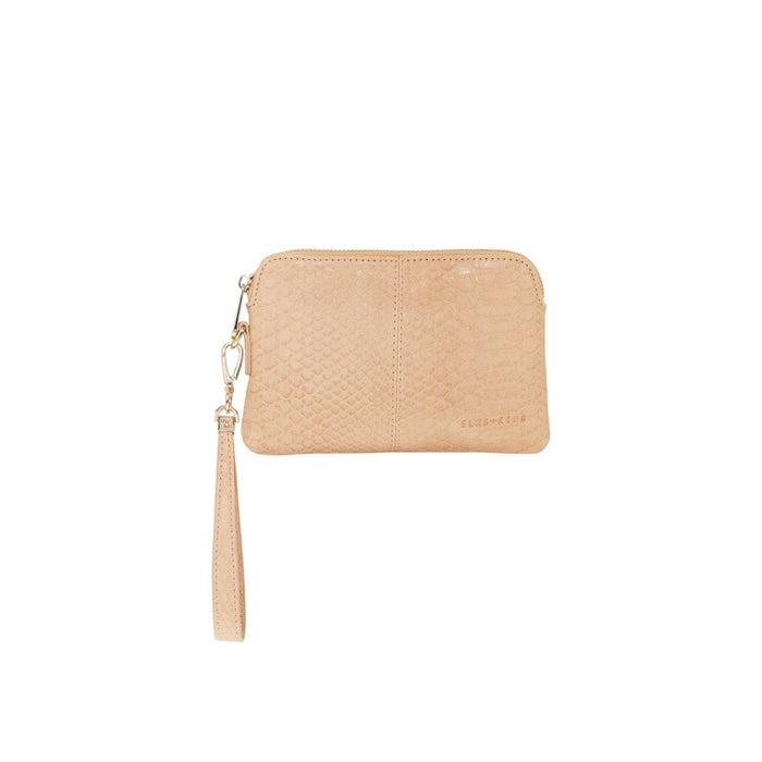 Elms & King Bowery Coin Purse Husk Python Afterpay available