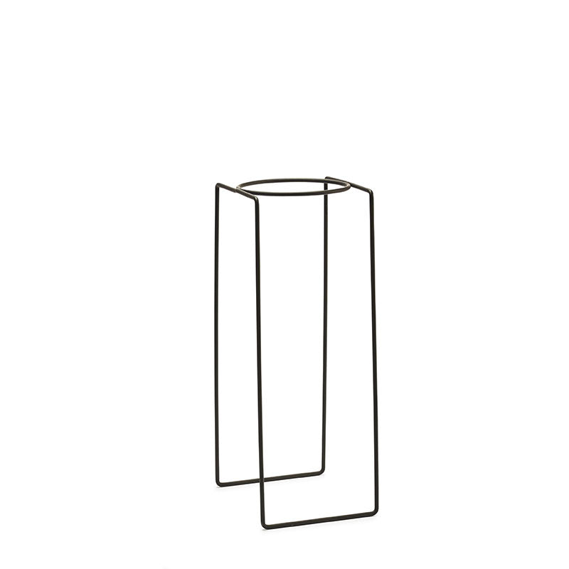 BENDO - PLANT TALL - POT STAND - BLACK