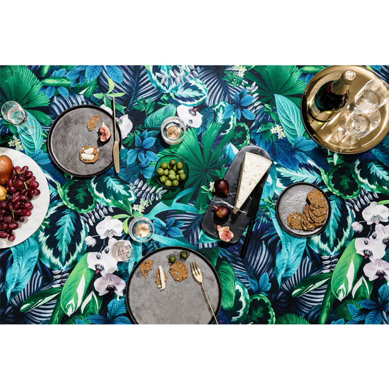 Basil Bangs Tablecloth Botanica Louise Jones