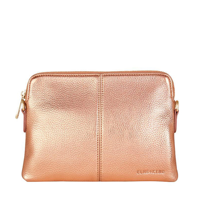 Elms & King - Bowery Wallet - Metallic Rose