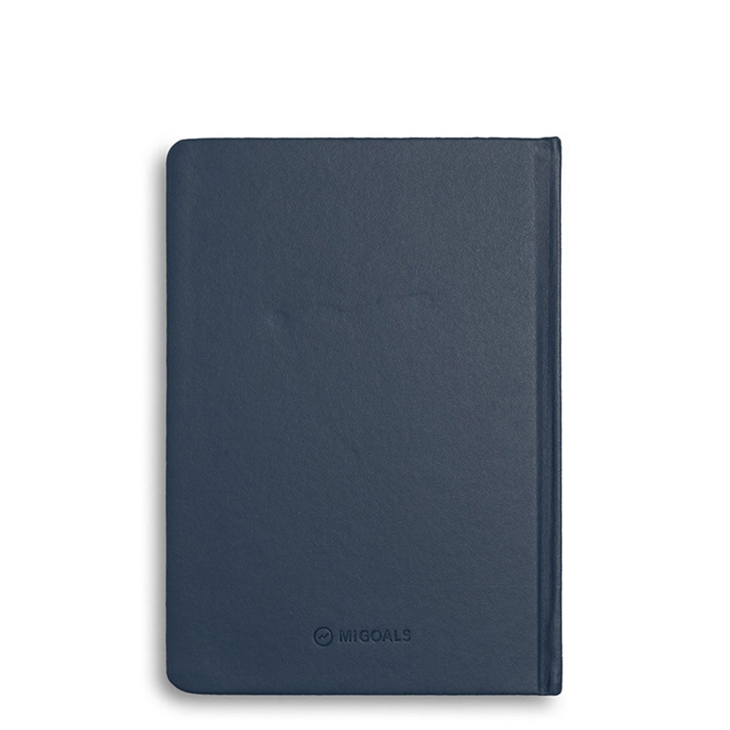 MiGoals - 2020 Classic Diary - A5 Hard Cover - Navy
