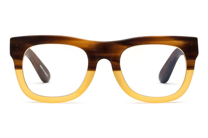 CADDIS - D28 Reading Glasses - Bullet Coffee