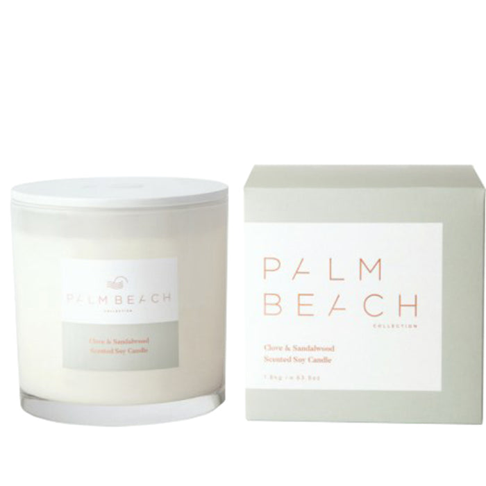 Palm Beach Collection - Deluxe Candle - Clove & Sandalwood