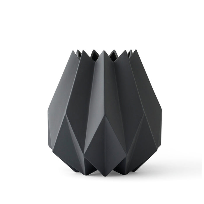 Menu - Folded Vase - Carbon - Tall