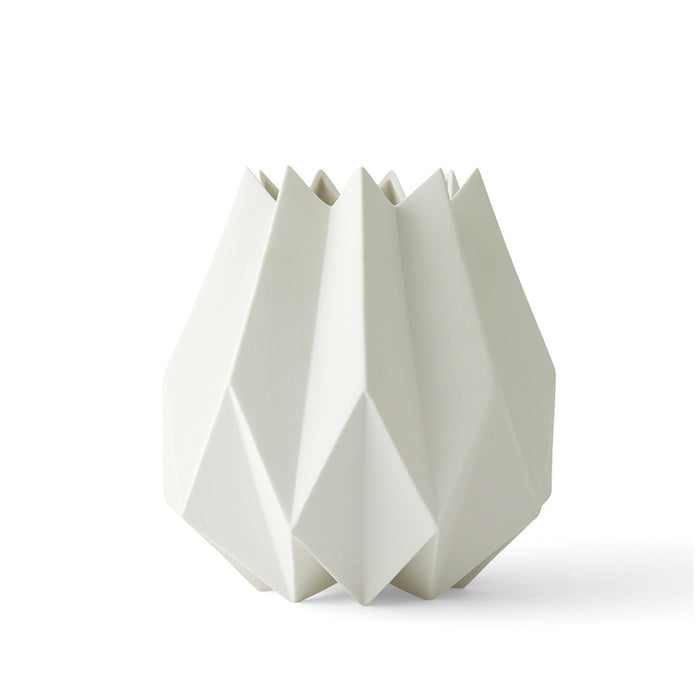 Menu - Folded Vase - White - Tall
