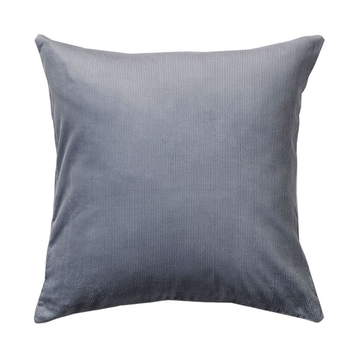 IN BED - Organic Cotton Square Cushion - Grey