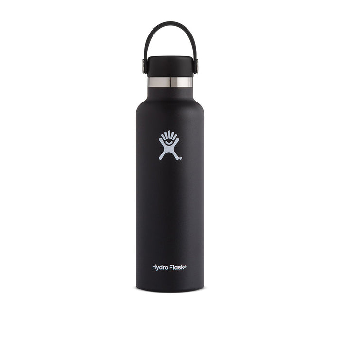 Hydro Flask 21oz Standard Mouth Insulated Bottle Black