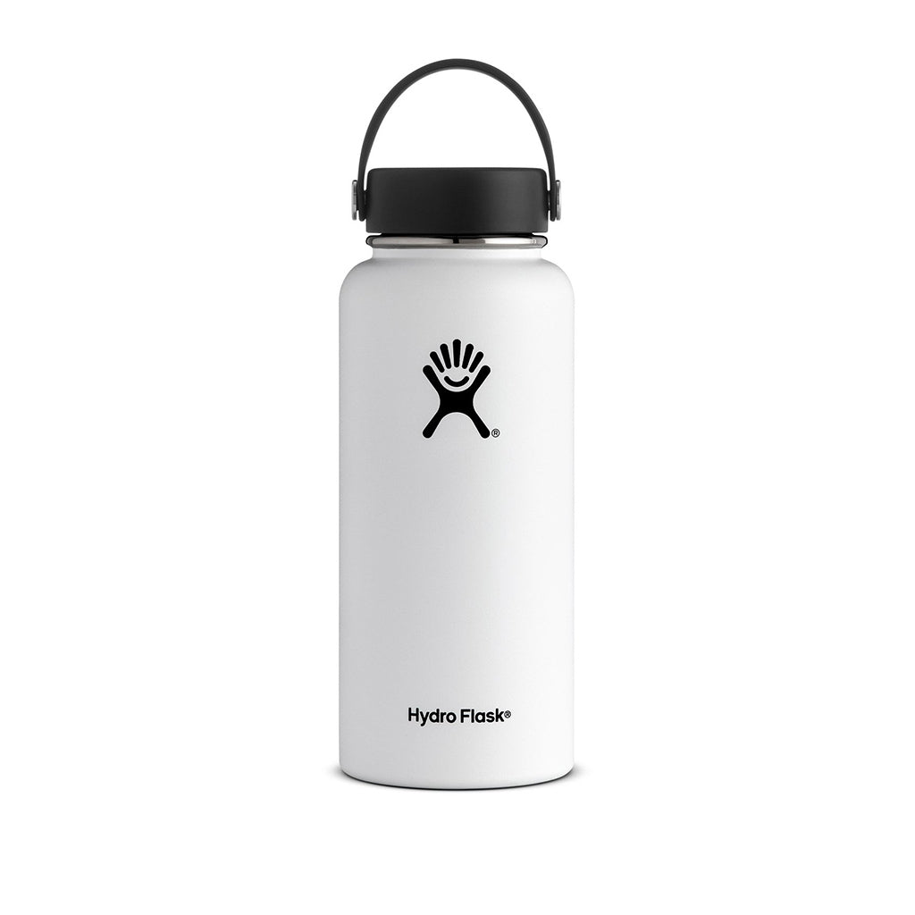 Hydro Flask 32oz Wide Mouth Insulated Bottle White