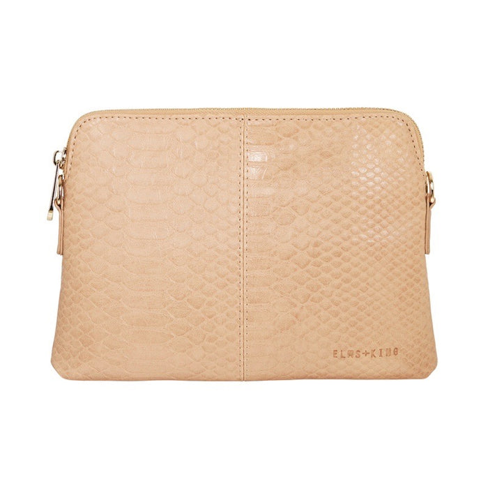 Elms & King Bowery Wallet Husk Python Afterpay available