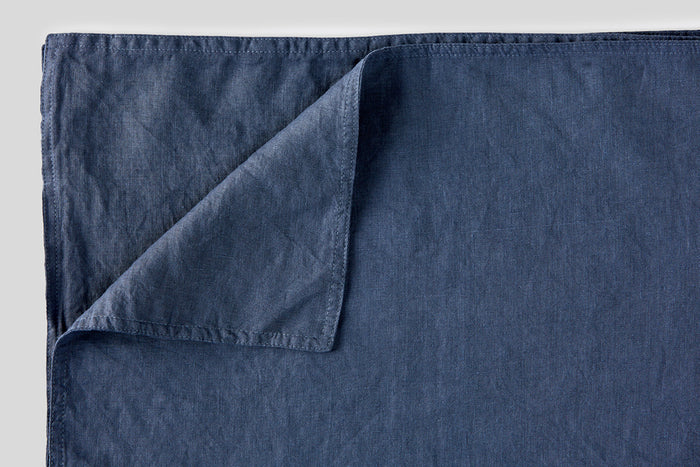 IN BED - Linen Placemat Set - French Blue