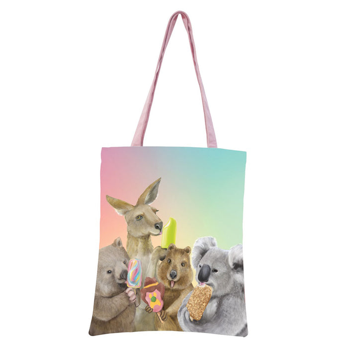 La La Land - Tote Bag - Ice Cream Critters