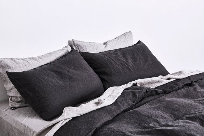 In Bed linen pillowslip pillowcase kohl standard